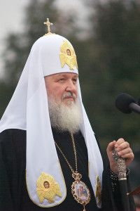 Patriarcha Cyryl I, przesłał Silverrebel CC BY-SA 3.0