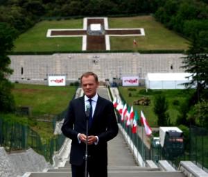 Premier zainaugurował obchody 70. rocznicy bitwy o Cassino / fot. Konrad Tracz