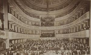 Widownia Teatru Wielkiego w Warszawie