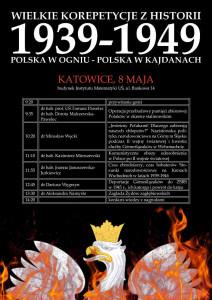 Wielkie Korepetycje z Historii - Katowice [program]