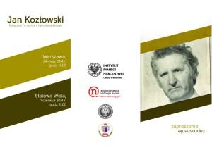 """Konferencja """"Jan Kozłowski. Niepokorny rolnik z tarnobrzeskiego"""""""