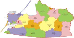 Podział administracyjny obwodu kaliningradzkiego/ CC BY-SA 3.0