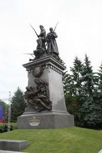 Fotografia pomnika, fot. Timura Haynutdynov