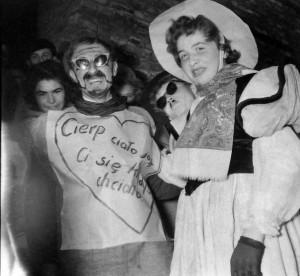 Grunt to dobrze przebranie. Korowód Kozienaliowy (1959 r.)/ fot. Muzeum UMCS