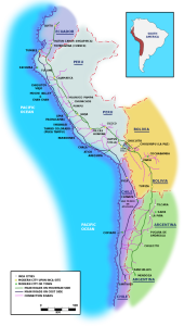 System dróg Państwa Inków, aut. Manco Capac CC BY-SA 3.0