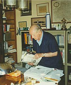 Jerzy Giedroyc we wrześniu 1997 r.