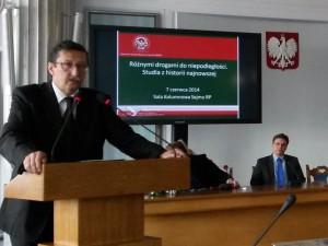 Przemówienie Jana Żaryna
