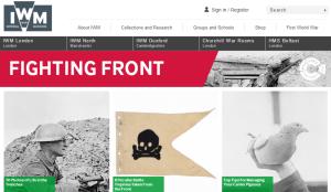 Strona internetowa Imperial War Museum, http://www.iwm.org.uk/history/first-world-war-fighting-front