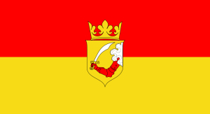 Flaga Bośni i Hercegowiny z lat 1878-1908