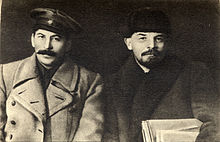 220px-Vladimir_Lenin_and_Joseph_Stalin,_1919