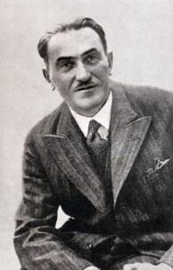 """Tadeusz Boy-Żeleński, polski pisarz publikujący na łamach """"Czerwonego Sztandaru"""""""