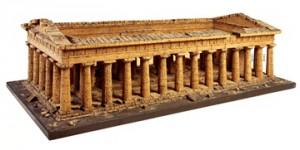 Korkowy model świątyni Zeusa, By courtesy of the Trustees of Sir John Soane's Museum CC BY-SA 3.0
