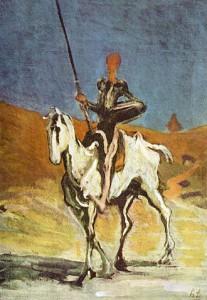Honoré Daumier, Don Kichot