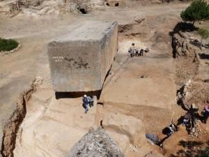 Rzeczony ogromny kamień, fot. Deutsches Archäologisches Institut