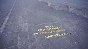 Greenpeace uszkodził obiekt UNESCO