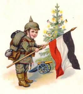 Choinka i Boże Narodzenie w Niemczech (karykatura)