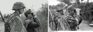 Próba odtworzenia żołnierzy niemieckich w trakcie walki w Normandii. Fot. Grzegorz Antoszek, Mołdaw Reenacting Photography