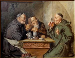 Mnisi pijący piwo: Arturo Petrocelli: