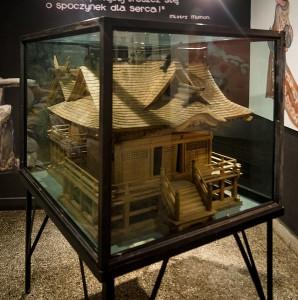 Model świątyni sintoistycznej w skali 1:50 / fot. Adam Kliczek / Wikipedia, CC-BY-SA-3.0