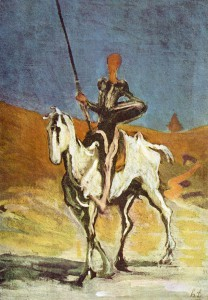 Honore Daumier, Don Kichot