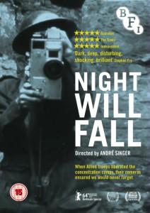 Plakat Night Will Fall, via Filmweb