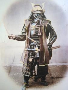 Samuraj, ok. 1860 r.