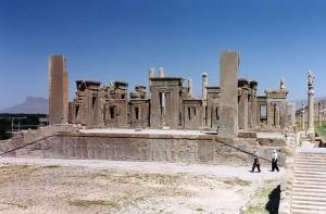 Ruiny Pałacu Dariusza w Persepolis / fot. CC-BY-SA 3.0
