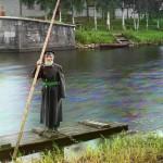 84-letni opiekun śluzy na Marinskim Kanale, fot. Siergiej Prokudin-Gorski, 1909 r.