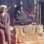 Targ w Azji Środkowej, fot. Siergiej Prokudin-Gorski, 1905-1915 r.