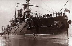 Battleship_Poltava_in_Kronstadt,_Russia_-_Autumn_1898