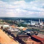 Czerdyń, w Kraju Permskim, nad rzeką Kolwą, 1910-1912