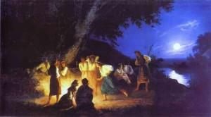 """""""Noc świętojańska"""", Henryk Siemiradzki, 1892"""