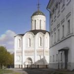 Katedra św. Dymitra we Włodzimierzu, ok 1911
