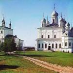 Katedra Wniebowzięcia NMP w monastyrze Goritskij w pobliżu Peresławia Zaleskiego, 1911 rok