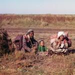 Kirgizi na stepach Kazachstanu, fot. Siergiej Prokudin-Gorski, 1910 r.