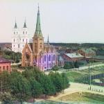 Kościół katolicki w Dyneburgu, 1912