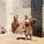 Nosiciel wody w Samarkandzie, fot. Siergiej Prokudin-Gorski, ok 1910