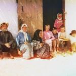 Rodzina przesiedleńców w Grafówce w Muganiu, fot. Siergiej Prokudin-Gorski, ok. 1905-1915 r.