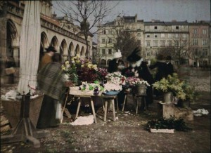 Tadeusz Rząca, Rynek Główny w Krakowie, ok. 1912 r.