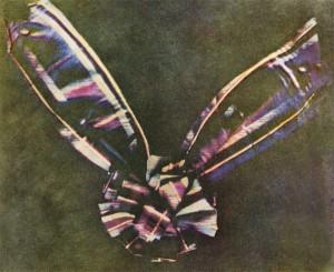 Thomas Sutton, Wstążka tartanu, pierwsza fotografia barwna, 1861 r