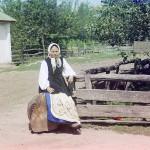 Ukrainka, fot. Siergiej Prokudin-Gorski, 1905-1915 r.