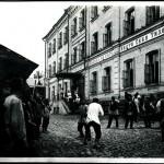 Bójka uliczna w Niżnym Nowogrodzie, fot. Maksim Dimitriew, ok. 1890 r.