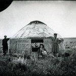 Namiot kirgijski, fot. Maksim Dimitriew, 1894 r.