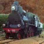 Specjalny carski pociąg, którym podróżował Siergiej Michajłowicz Prokudin-Gorski, ok 1910-1912 r.
