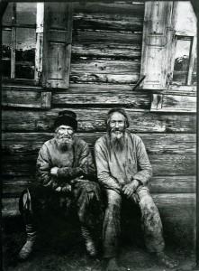 Prawosławni chłopi, fot. Maksim Dimitriew, ok. 1890 r.