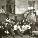 Włóczędzy w Niżnym Nowogrodzie, fot. Maksim Dimitriew, 1897 r.