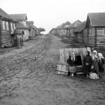 wieś chłopska, Winogradow, 1890 r.