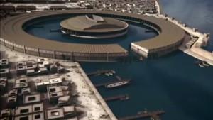 Komputerowa wizualizacja Kartaginy / fot. Karthago - Die Stadt der Seefahrer, youtube.com/watch?v=UHoz2sqdzb4