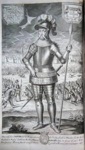 Edward III, w jego tle widać grzmoty, które zmieniły bieg historii