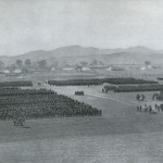 Japońska 1. Armia podczas bitwy pod Mukden, fot Collier, 1905 r